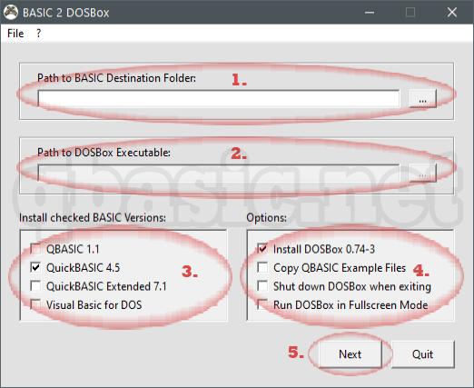 QBasic for Windows 7 with DOSBox - Part 4